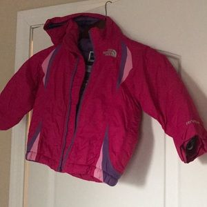 Toddler 2T North Face coat pink